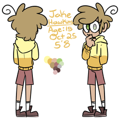 Jake Ref by NightmareWill
