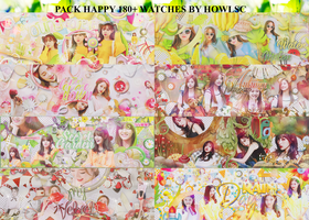[26/7/2016] PACK HAPPY 100 WATCH+ BY HOWLSC by HowlSC