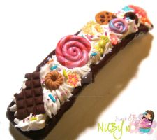 Big Sweet Barrette by colourful-blossom
