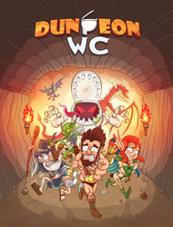 Dungeon WC boardgame by Sarcix82
