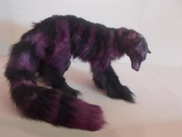 Handmade Posable purple wolf! SOLD by KaypeaCreations