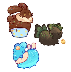Paca Easter Gifts by fairy-ghost