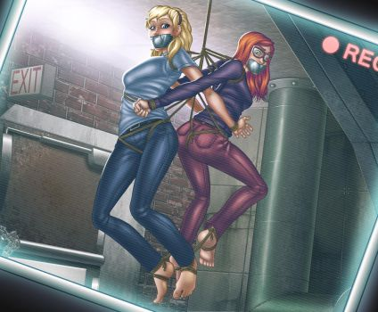MJ and Gwen: Ultimate Hostages by SneakAttack1221