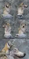 Wolf 3 - Winter Wolf by DiamondDustTaxidermy
