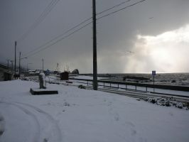 Snow by the Sea 3 by katters