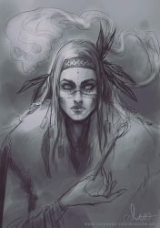 The Shaman by Meggie-M