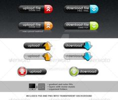 Upload and Download Button 2 by simas2