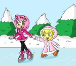 Friends on Ice by ninpeachlover