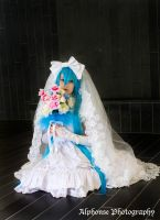 Wedding Hatsune Miku 04 by KyuProduction
