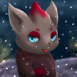 [Trade] A Snowrua! by Lekisceon