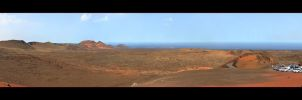 Volcanos - Timanfaya National Park - Panorama by skarzynscy