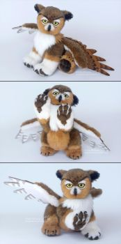 Owlbear Plush by deeed