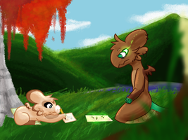 Plant growth 1 by Lotuscatdragon