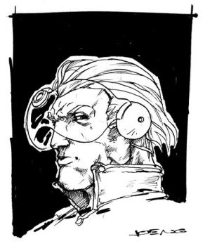 Captain Saturn sketch by NgBoy