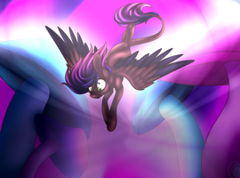 Art Trade with SilentWulv(speed paint) by ImmaGoddamPony