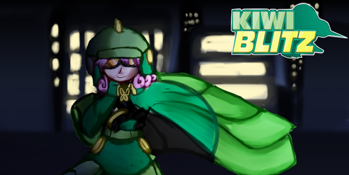 Hence comes  forth the Kiwi and the Blitz by Shatonoa