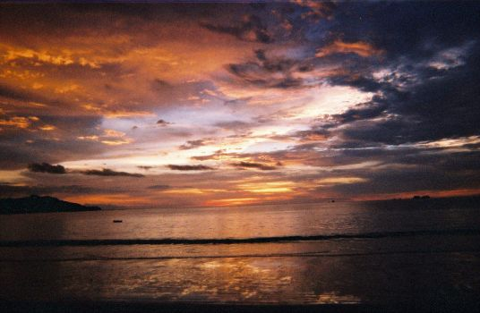 Costa Rica - Sunset 2 by 22caps