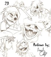 2D Collage by spoopty23