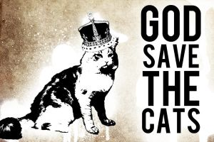 God save the cats by kraftzarco