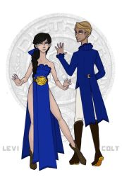 The Hunger Games - District 10 Tributes by Windnstorm
