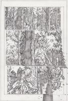 HVZA Page 1 Pencils by KurtBelcher1
