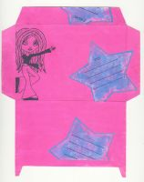 Envelope for girls by Mutany