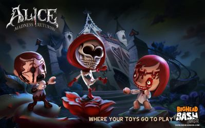 Alice: Madness Returns characters are back NOW by SpicyHorseOfficial