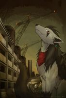 A wolf in the abolished factor by uta-inu