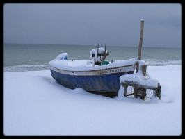 Snowboat by TheSkyEtc
