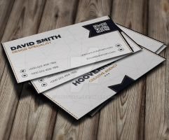 White Creative Business Card by GreyFoxGR