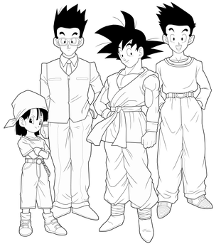 Dragon Ball GT 1st preview by drozdoo
