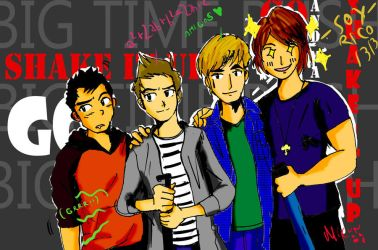 Big Time Rush by epicpercent