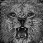 Santana Lion Faces by MayanMuscle