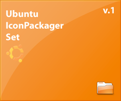 Ubuntu IconPackager Set by dobee