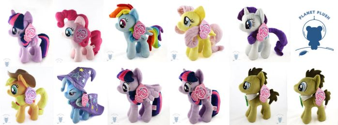 4DE Ponies In Stock at PlanetPlush! by PlanetPlush