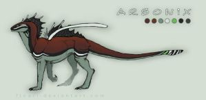 Arsonix temp. Ref Sheet '12 by Floeur