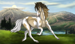 diRPG | Tes | Lead Mare by AzziNeh