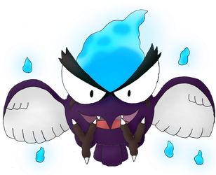 Celaena the Gastly/Pidgey Fusion (For Malwinra) by Unownace
