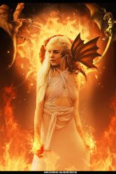 Daenerys Targaryen - The Mother of Dragons by Autodestruct1on
