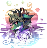 [AT with Cebuni] ~Winter Deer~ by Maechi-Toff