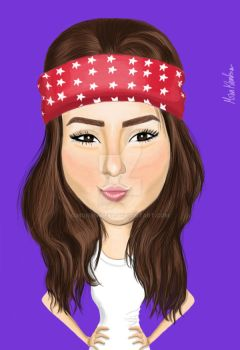Caricature by monynice89