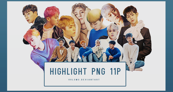 Highlight Around us 11P PNG by vul3m3