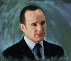 Agent Phil Coulson by lane-nee-chan