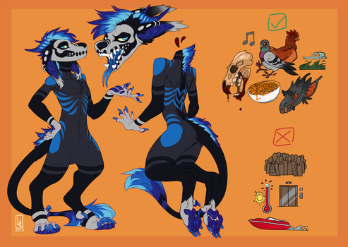 Reference for TheSkullBeast by LiLaiRa