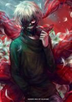 Kaneki Ken by AloNiar