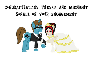 Thespio and Midnight Sonata Wedding outfits by RM-Keyblade-Mistress