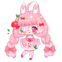 Simple Chibi ~ All Pink by Hiratsumi