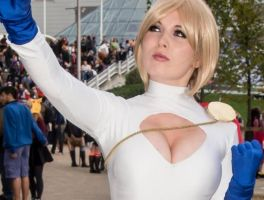 Power Girl Cosplay 2 by GraceyDarling