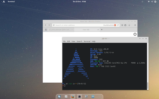 Arch - GNOME 3.14 by JohnLettman