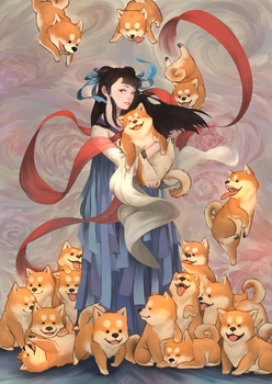 Year of the Dog by yeinART